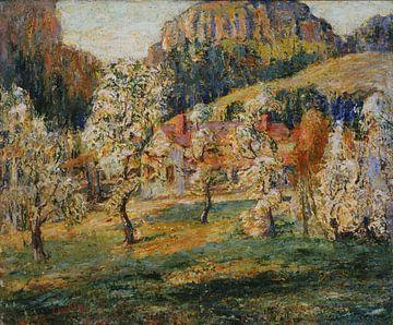 Ernest Lawson-Mei in den Bergen