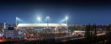 Feyenoord Stadion 'de Kuip' von Niels Dam