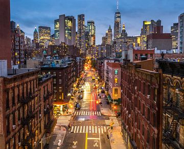 New York, Manhattan et Chinatown sur Ruurd Dankloff