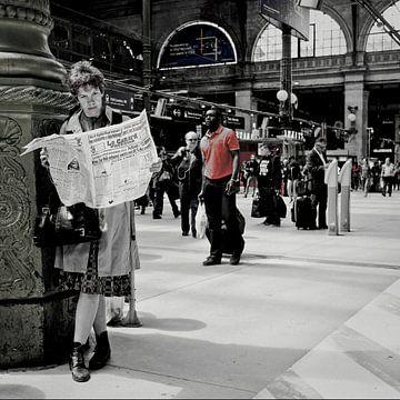 Le Canard    Gare du Nord..Parijs van annemiek van der werff