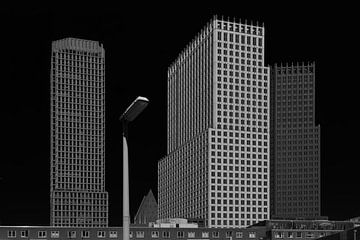 Skyline Den Haag von Rini Braber