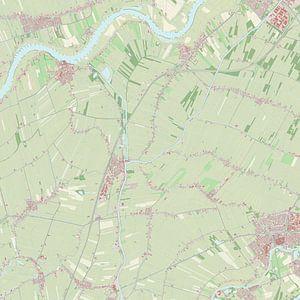 Kaart vanZederik