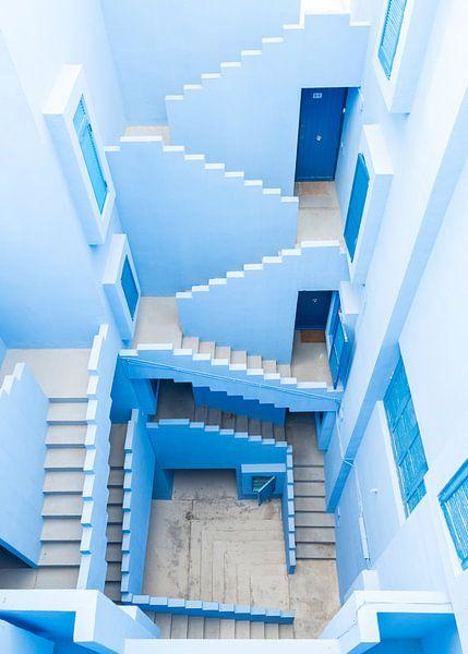 La Muralla Roja - bovenaanzicht van Anki Wijnen