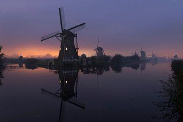 Molens, Kinderdijk, Windmills, Kinderdijk, Moulins de Kinderdijk,Kinderdijk Windmühlen. von Ron Westbroek