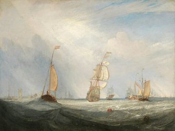 Helvoetsluys; die Stadt Utrecht, 64, Aufbruch zur See, William Turner