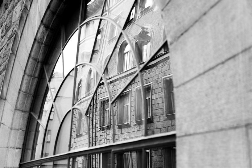 Straatbeeld van stockholm van Karijn   Fine art Natuur en Reis Fotografie