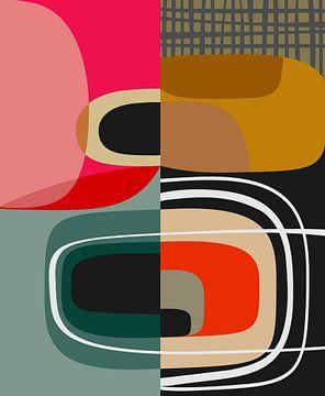Abstracte samenstelling 1115 van Angel Estevez