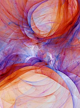 Composition abstraite 405 van Angel Estevez