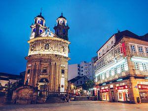Pontevedra - Capela da Peregrina van Alexander Voss