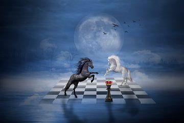 Chess rivals van Ursula Di Chito