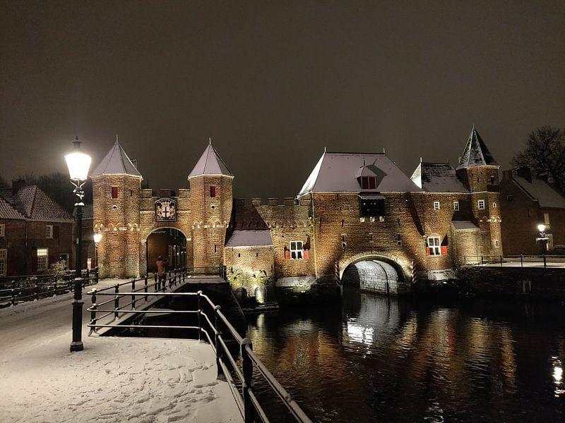 Koppelpoort in de winter van Roland Smit