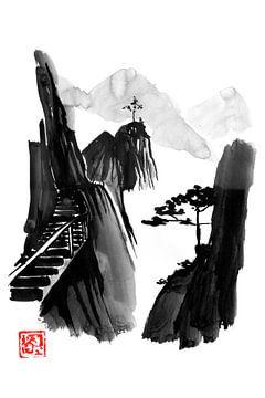Treppe zum Himmel von philippe imbert