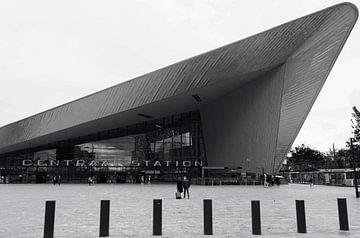 Hauptbahnhof Rotterdam von Muriël Mulder