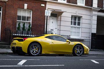 Ferrari 458 Speciale van