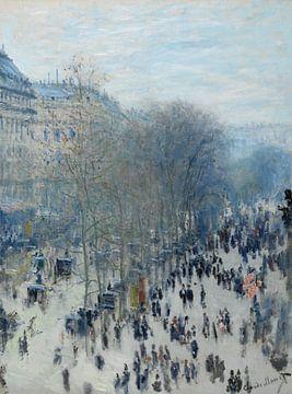Boulevard des Capucines - Claude Monet von Marieke de Koning