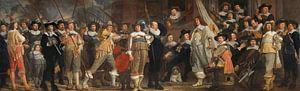 Officieren en andere schutters, Bartholomeus van der Helst