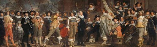 Officieren en andere schutters, Bartholomeus van der Helst van Meesterlijcke Meesters