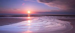 een magische zonsondergang cape blanc nez