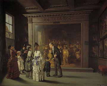Treppenhuis, August Jernberg von Meesterlijcke Meesters