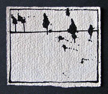 Vogels in inkt 4 van Kuba Bartyński