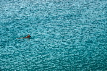 Der einsame Schwimmer von