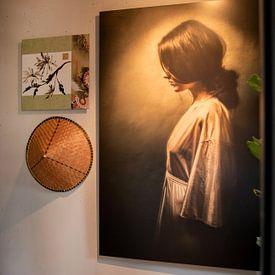 Kundenfoto: Alone von Marja van den Hurk, auf alu-dibond