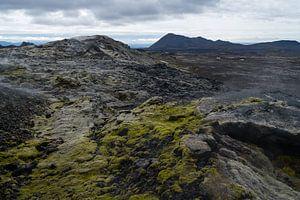 Lavavelden van Leirhnjúkur, IJsland