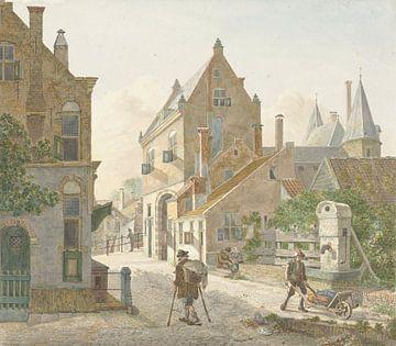 De Waardpoort und die Oude Gracht in Utrecht, Jan Hendrik Verheijen