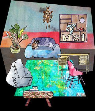 Sweet Home -interieur en meubilair -5 van Ariadna de Raadt