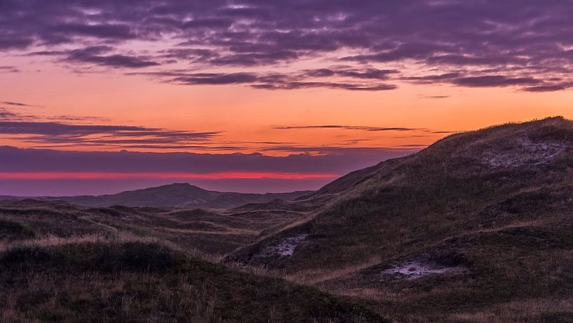 Texel sunrise van Patrick Mortko