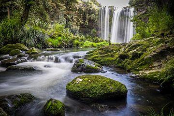Wasserfall im Wald von Roel Beurskens