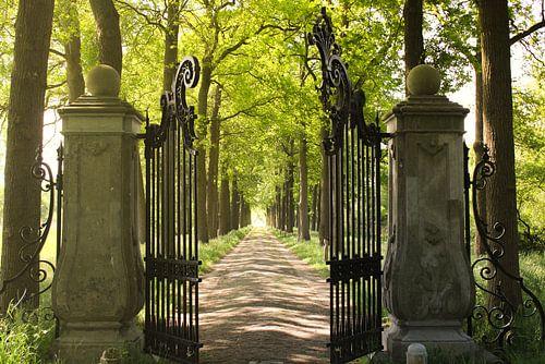 De poorten van het kasteel