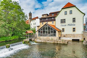 Neue Mühle in Erfurt, Deutschland von Gunter Kirsch