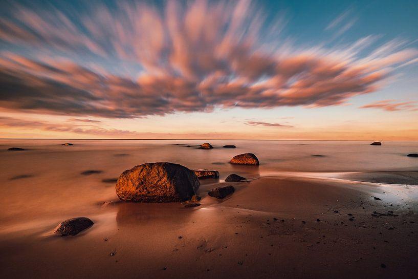 Steine im Abendlicht von Marcus Lanz