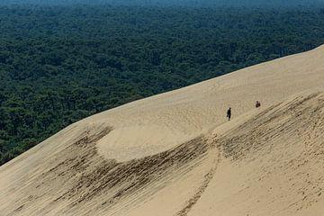 Dune du Pilat in Frankrijk van Easycopters