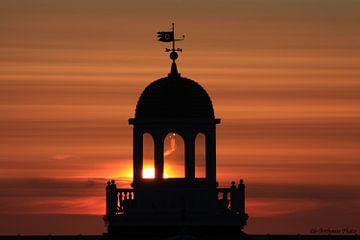 Zonsondergang Noordwijk aan Zee van b- Arthouse Fotografie