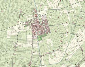 Kaart vanBedum van
