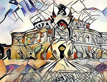 Kandinsky rencontre Dresde 2 sur zam art