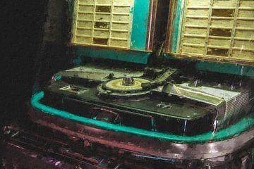 Jukebox van Digitale Schilderijen