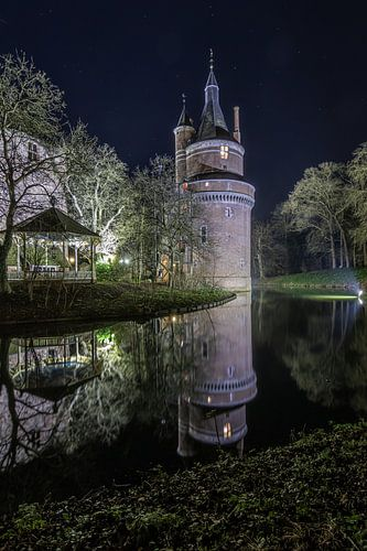 Kasteel toren van Kasteel Duurstede van Klaas Doting