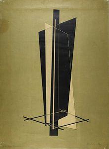 Bauhaus, László Moholy-Nagy, zonder titel (Compositie) - 1923