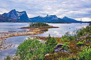 Ein ruhiger Abend am Efjord von Gisela Scheffbuch