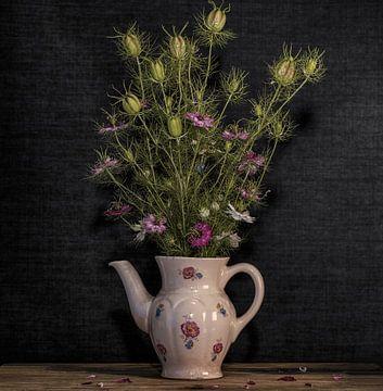 Stillleben mit Blumen von Carina Meijer ÇaVa Fotografie