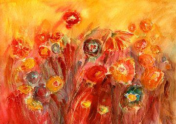 Blumenglück von Claudia Gründler