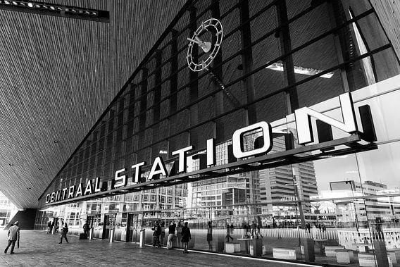 Centraal Station Rotterdam van Iwan Bronkhorst