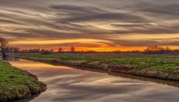 zonsondergang in maart sur Robin Pics (verliefd op Utrecht)