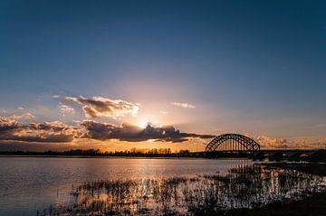 De IJssel bij Zwolle van Niek Belder
