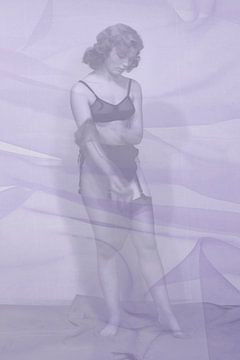 Stockings 1950s NR. 1 van 4