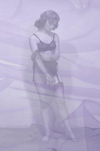 Strümpfe 1950er Jahre NR. 1 von 4 von Timeview Vintage Images