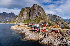 Hamnøy en été